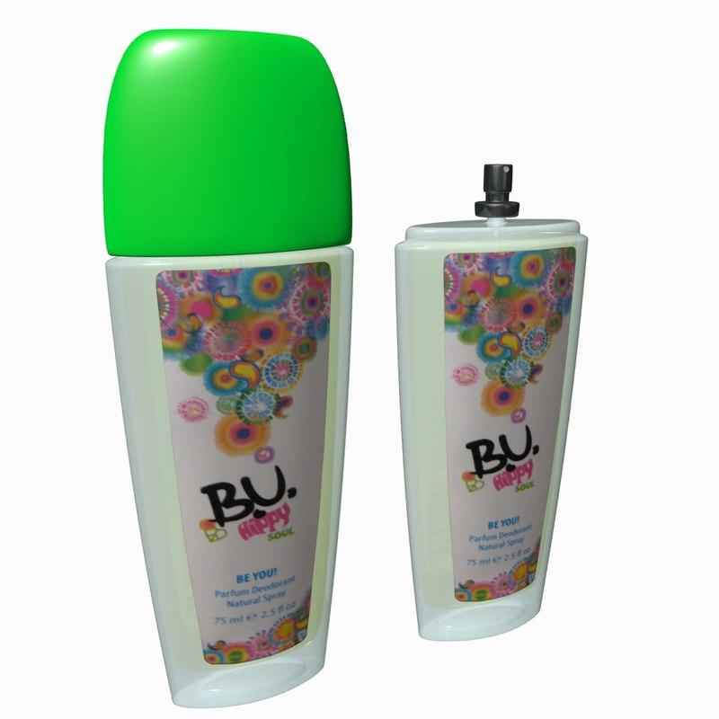 Bottle Of Perfume BU
