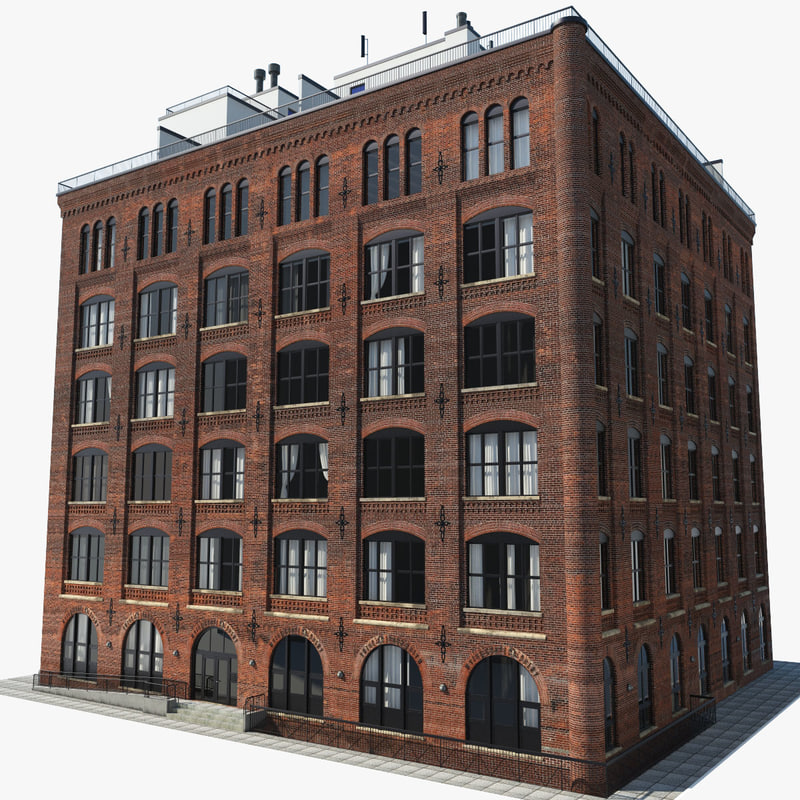 new york brooklyn downtown 3d max On model house nyc