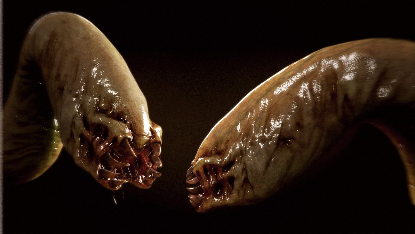 Worm creature