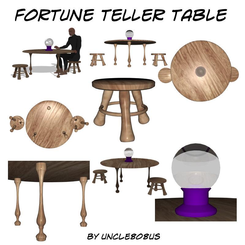 Fortune Teller Table