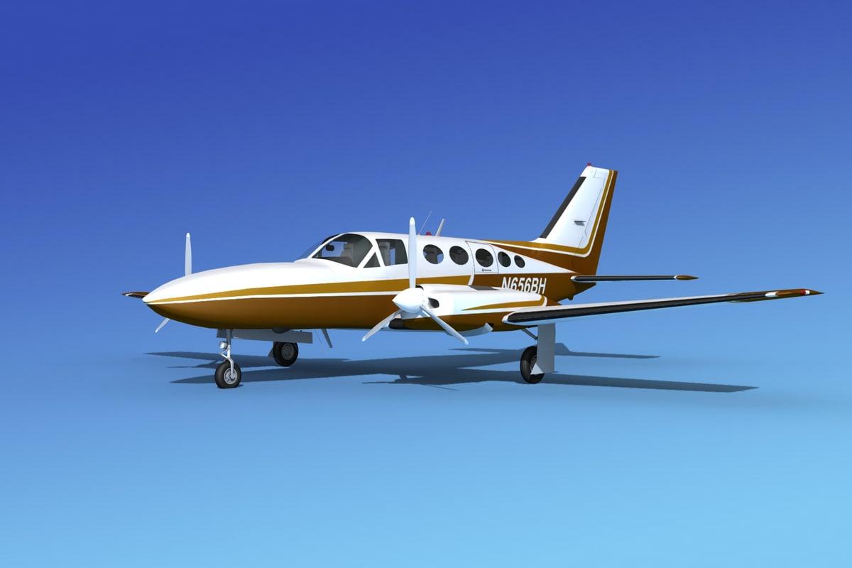 Cessna 414 Chancellor VS02
