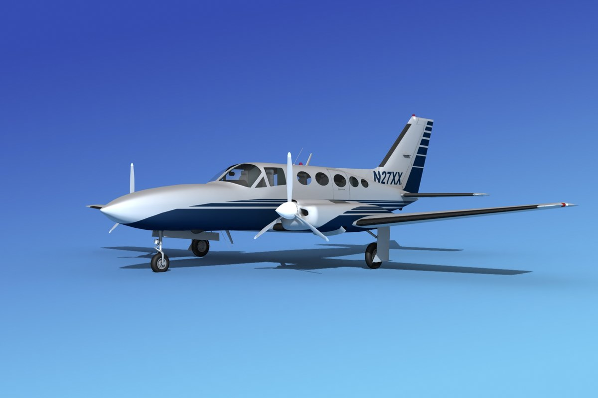 Cessna 414 Chancellor VS12