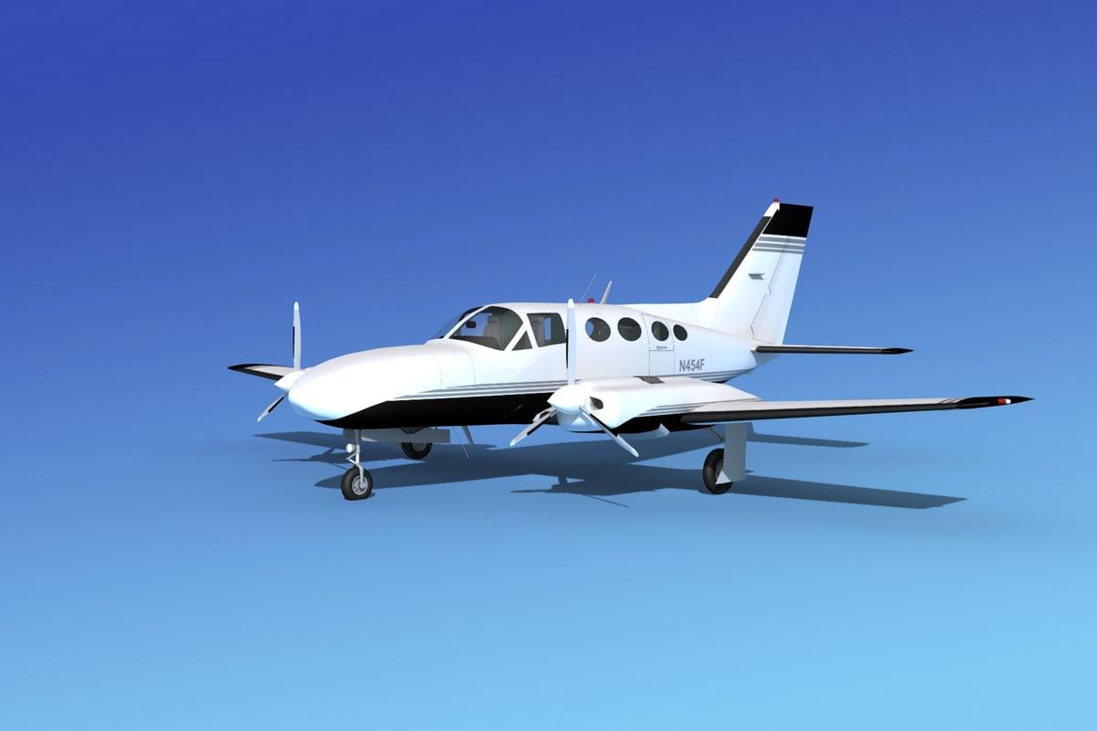 Cessna 421b Golden Eagle V14