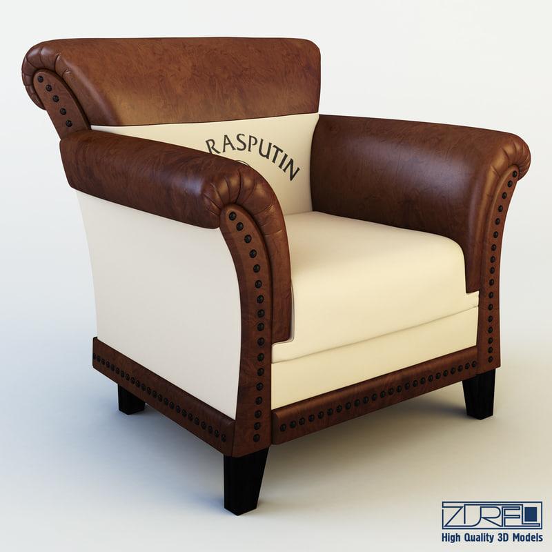 Club chair patti