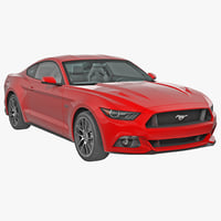Ford mustang 3D models