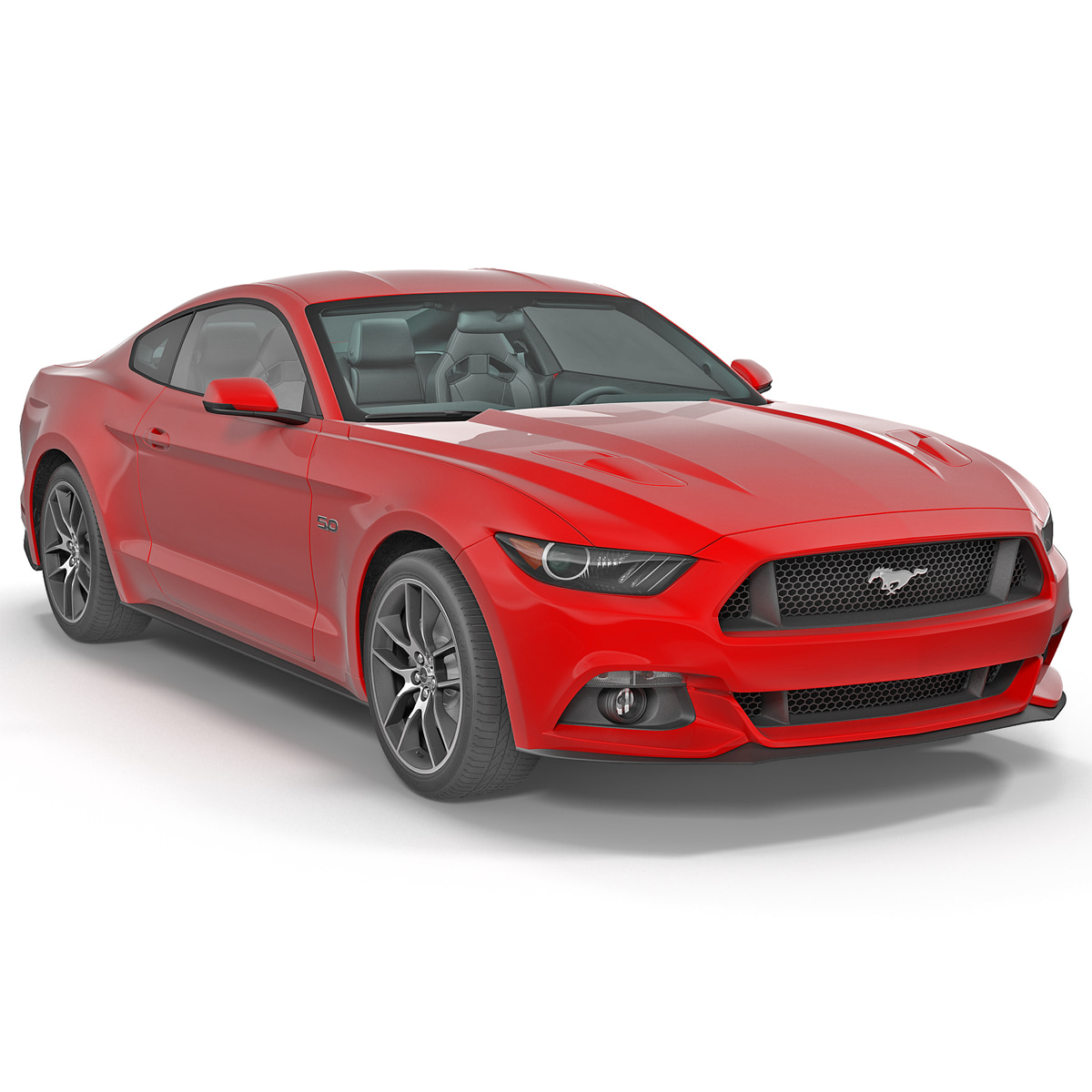 Ford Sports Car Models: 3ds Max Sports Car Mustang Coupe