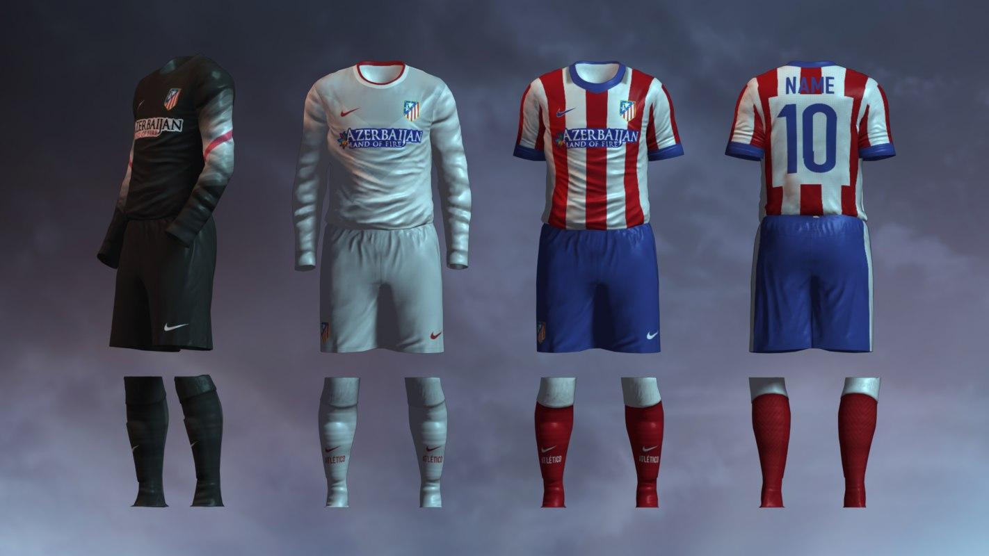 Atletico Madrid 2014/2015 Jerseys