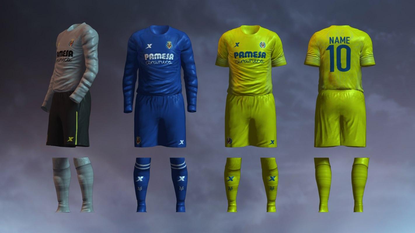 Villarreal CF 2014/2015 Jerseys