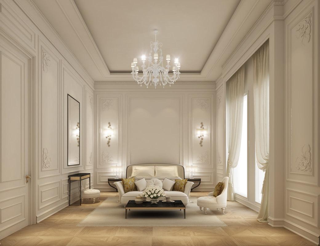 classic bedroom full interior