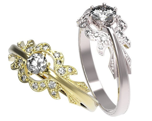 Gold ring with a diamond 39.jpg