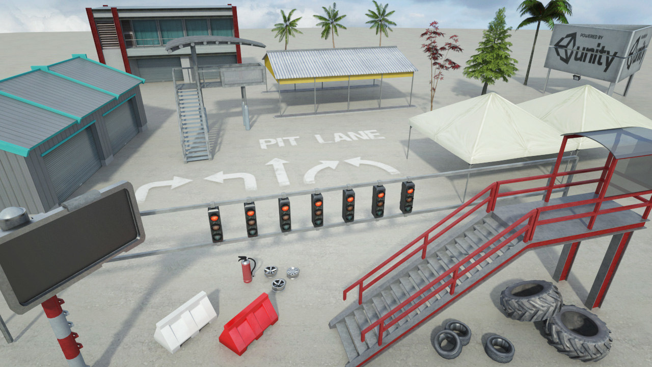 Race Track Construction Kit: Add-on Pack B