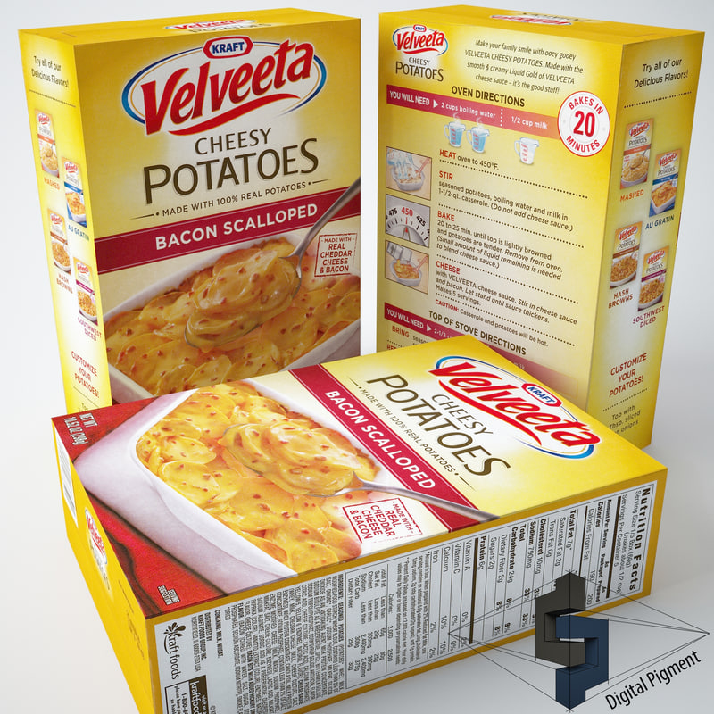 Velveeta Cheesy Potatoes Bacon