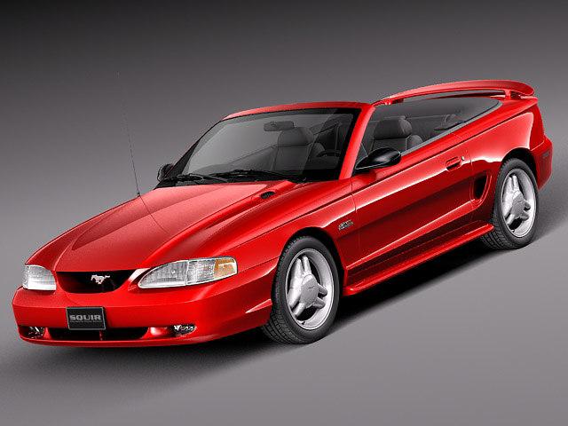 convertible 1994 1999 3d model