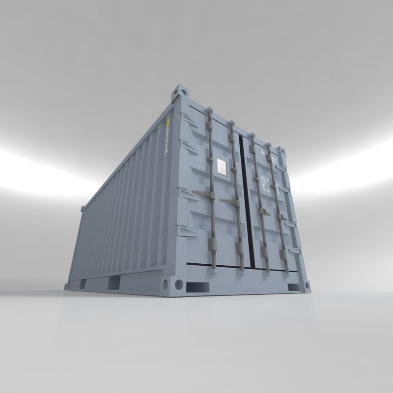 Container shipment 20ft