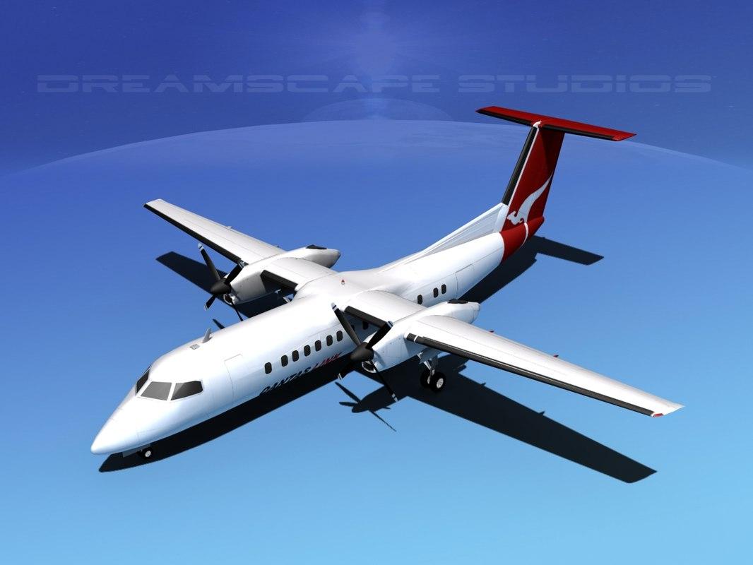 Dehaviland DHC-8 Q-300 Qantas Link0100.jpg