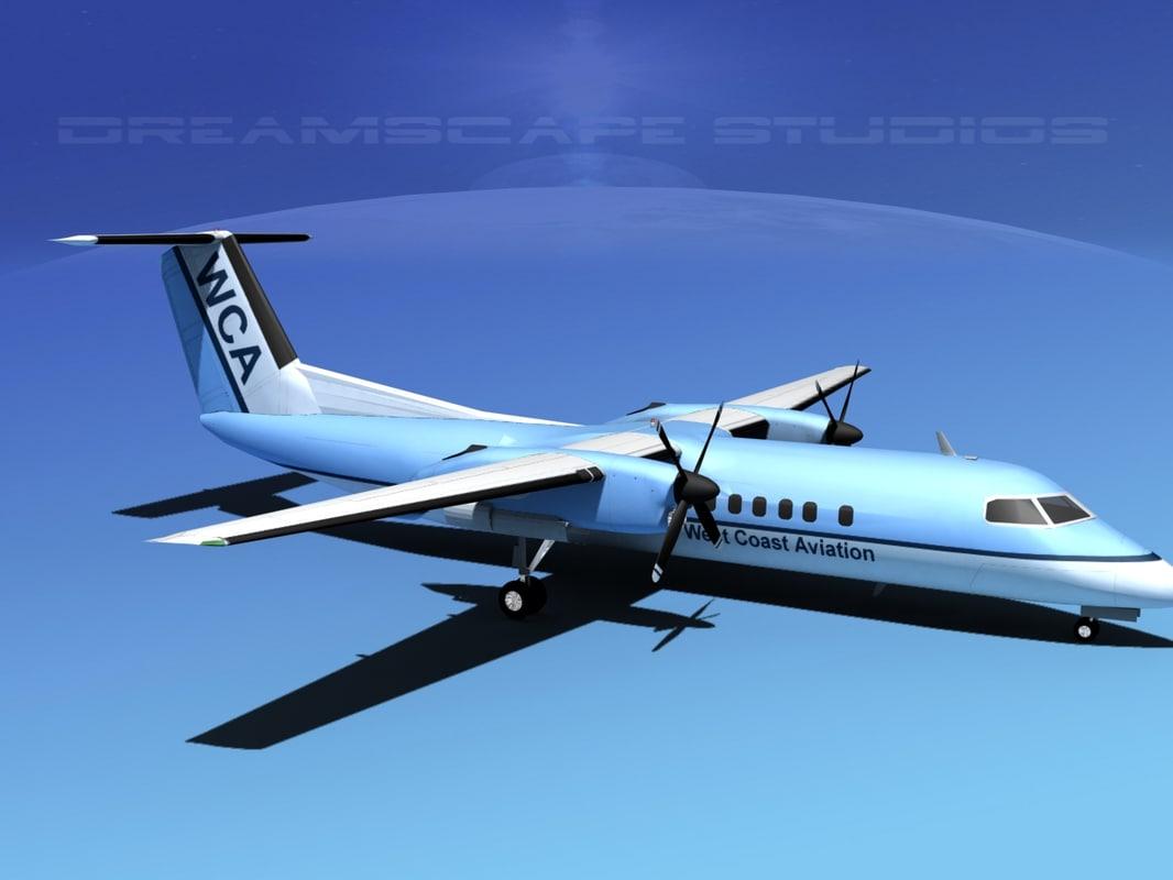 Dehaviland DHC-8 Q-300 West Coast0030.jpg