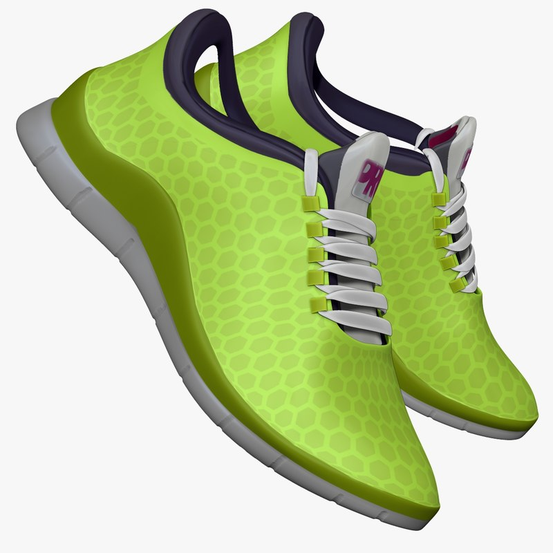 Sneakers Lime Green
