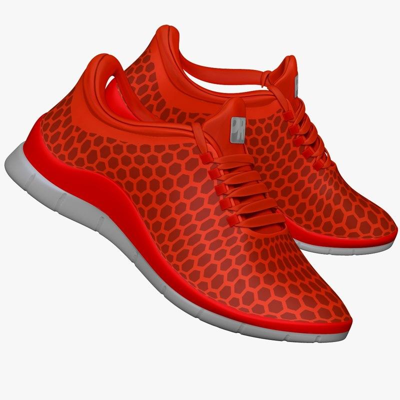 Sneakers Dark Orange