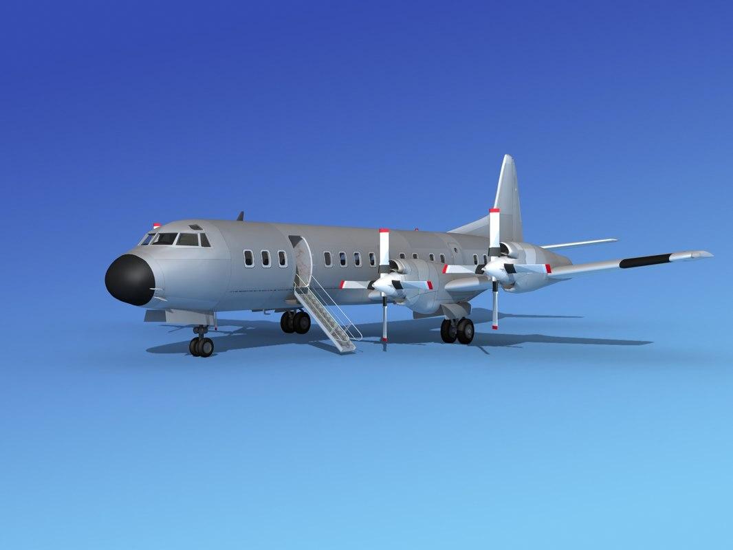 Lockheed L-188 Bare Metal0001.jpg
