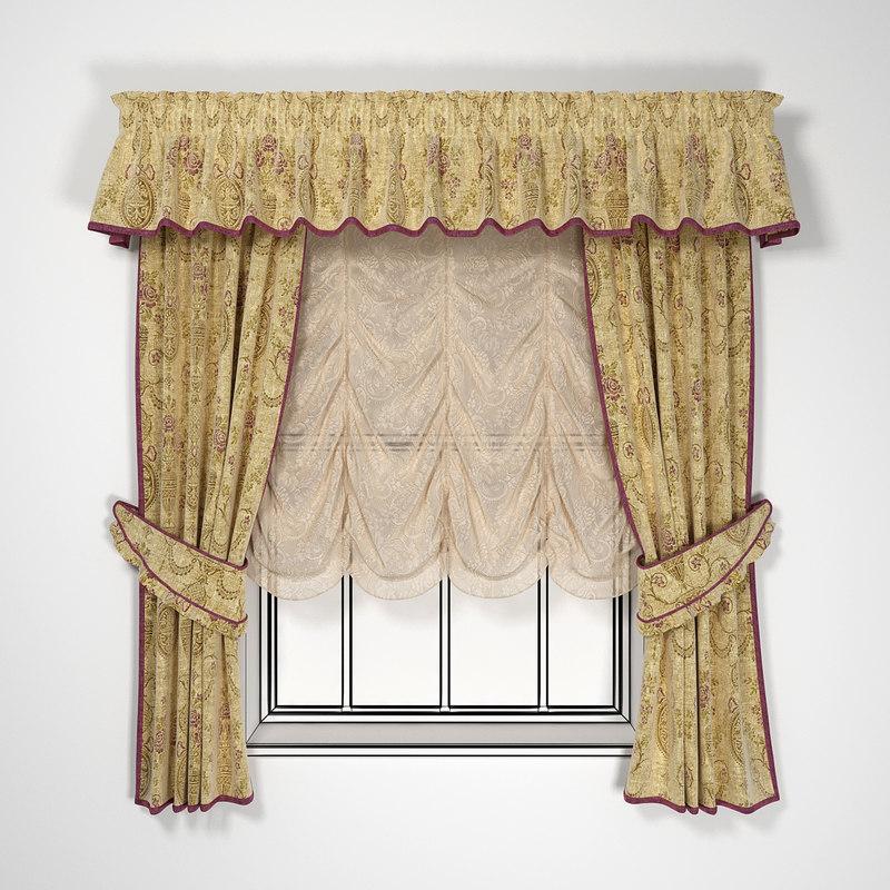 """Curtain """"Rural"""""""