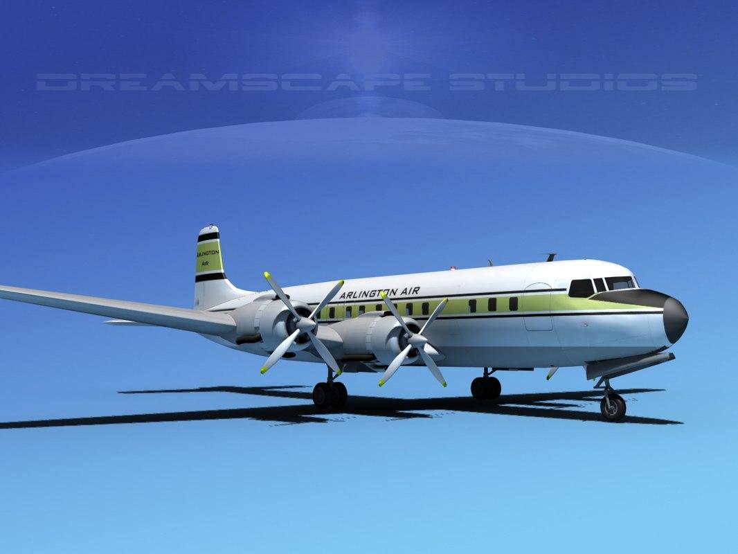 Douglas DC-7C Arlington0001.jpg