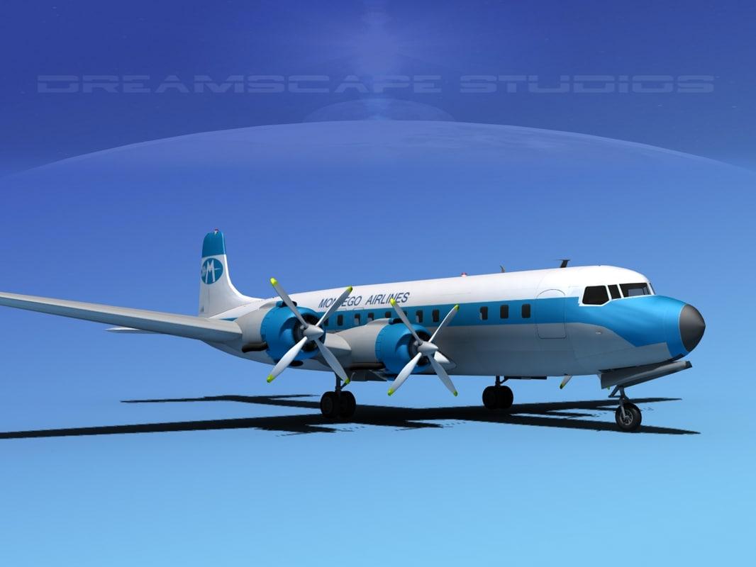 Douglas DC-7C Montego Air0001.jpg