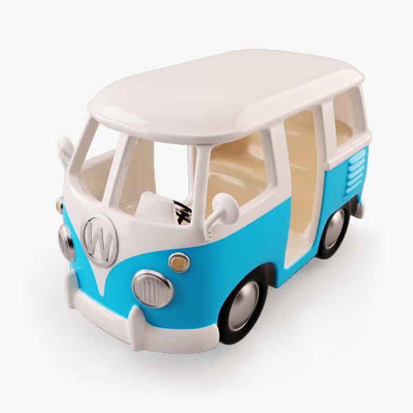 Kiddie Ride Camper Van