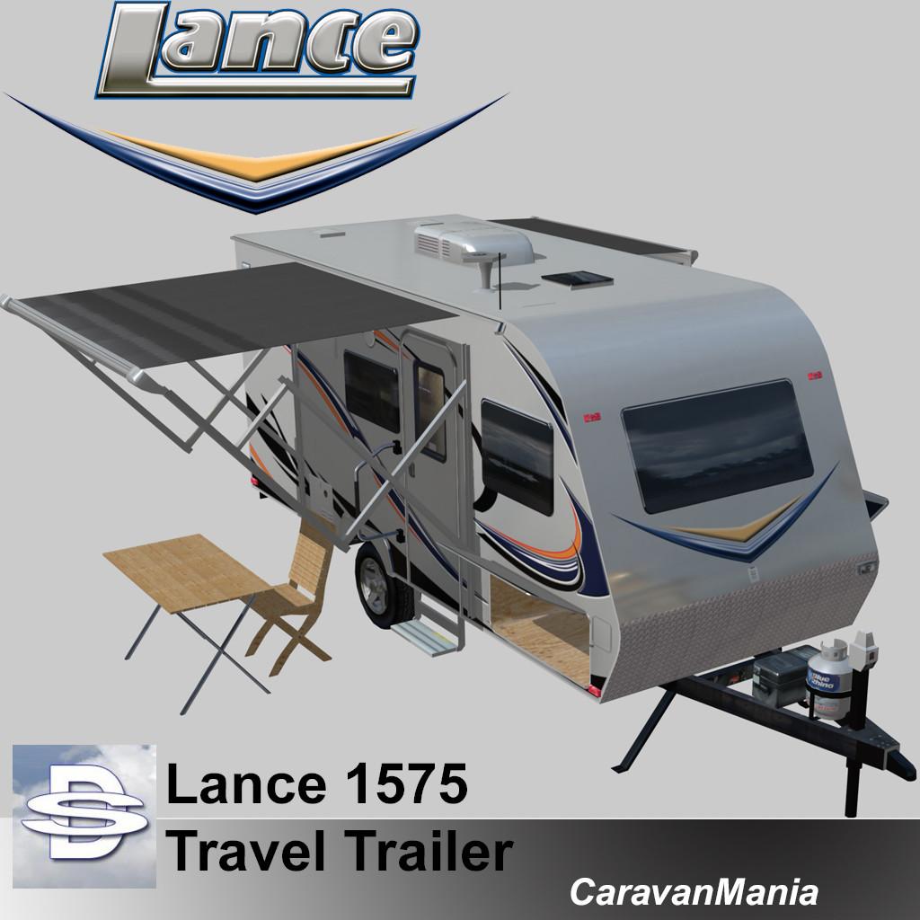 Lance 1575  Travel Trailer
