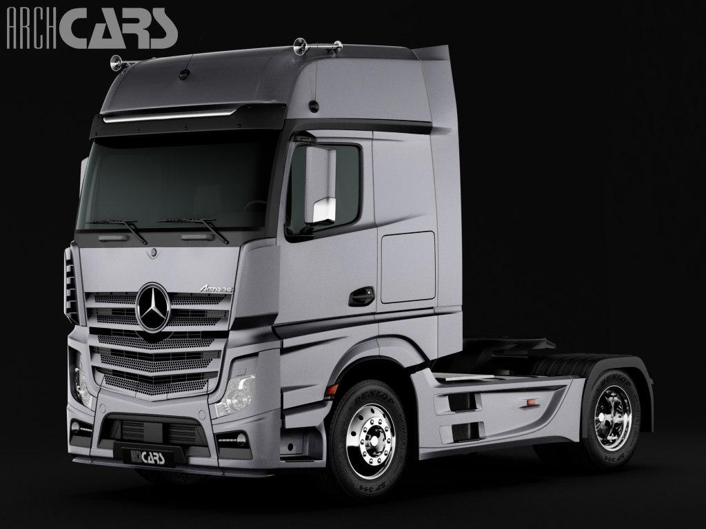 Mercedes Benz Actros Semi