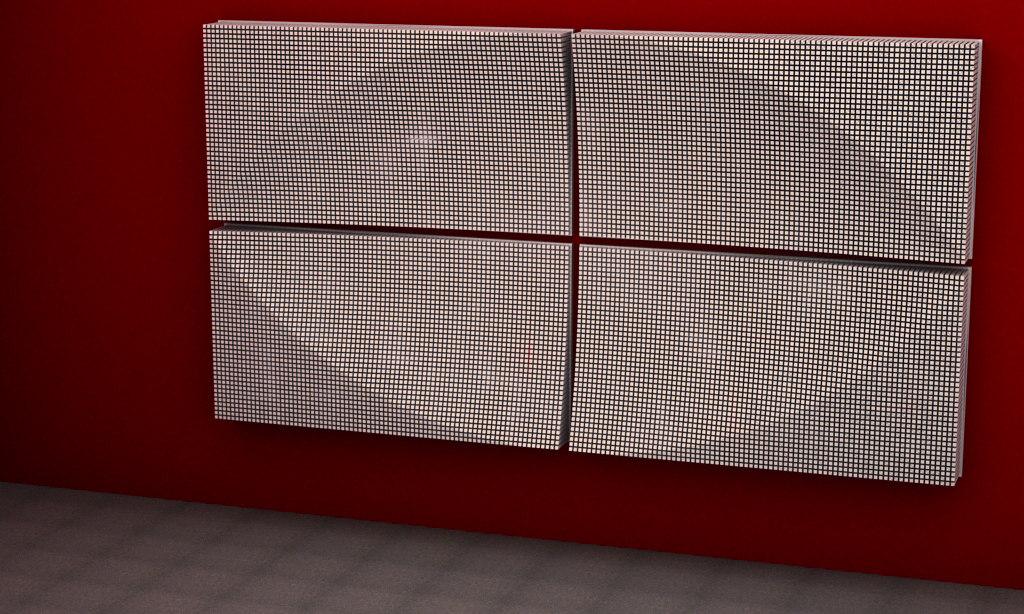 NORDSK ELLIPSOID 3D STRUCTURE ART 2014