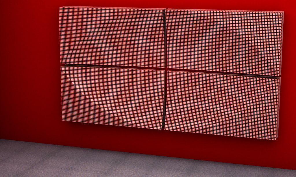 ELLIPSOID 3D STRUCTURE ART 2014