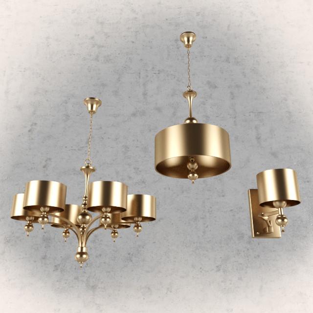 de majo chandelier lamp bra