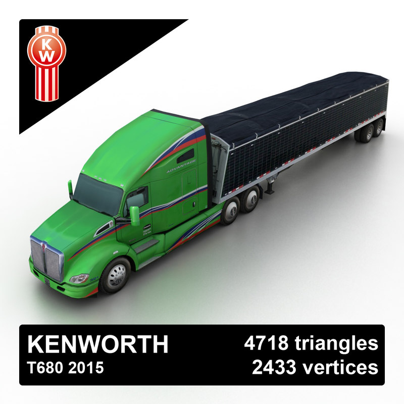 Kenworth T680 2015 Tipper