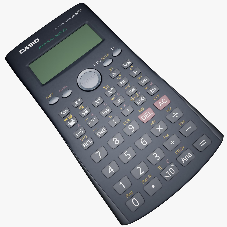 3ds max casio calculator