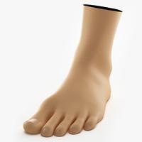 foot 3D models