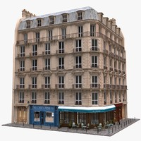 Commercial Building 3D models
