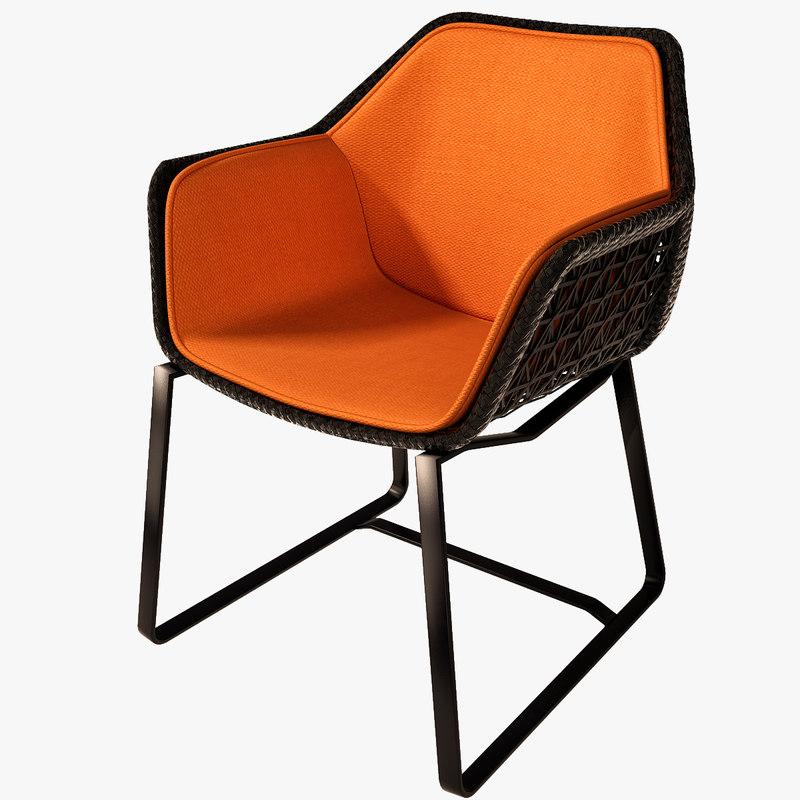 Max kettal maia armchair chairs for Kettal maia chair