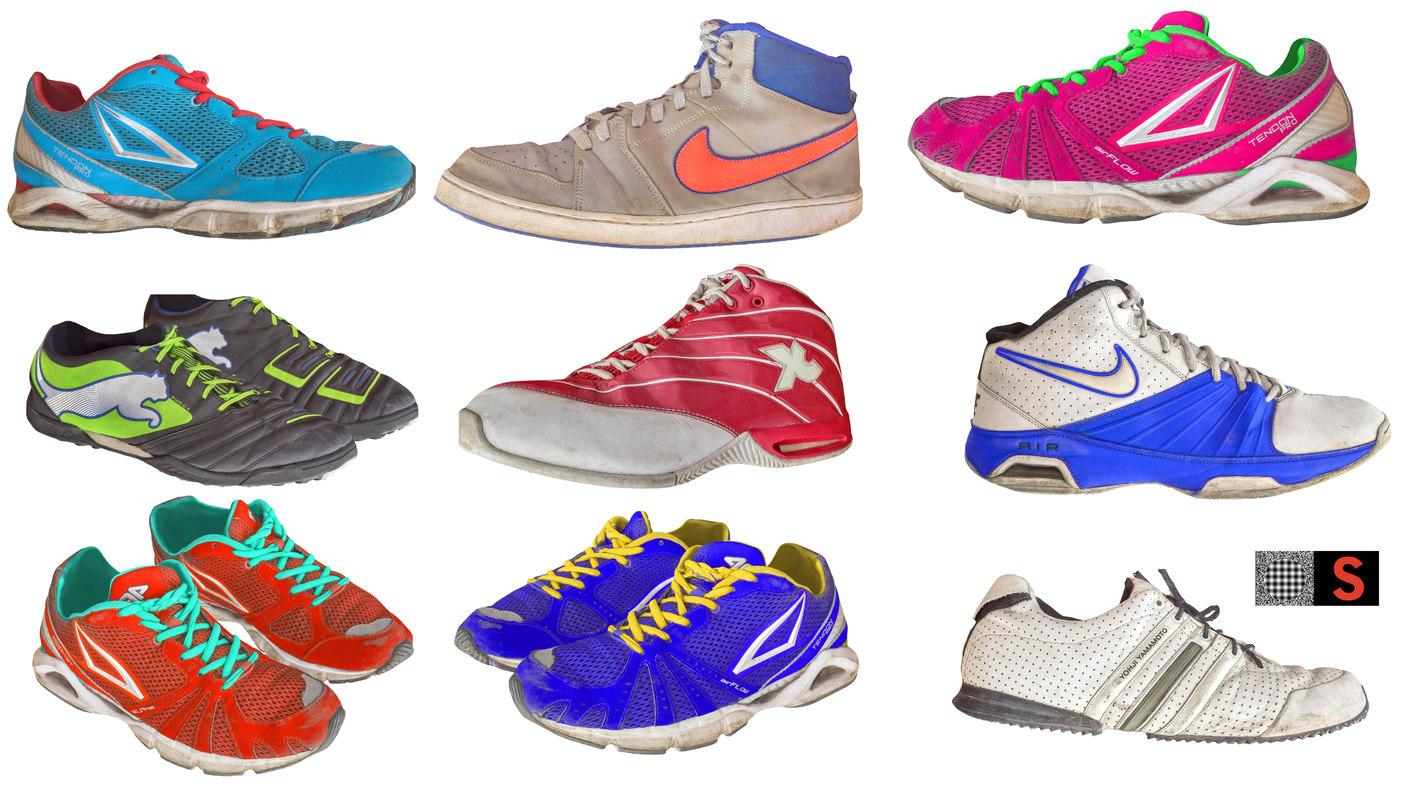 maya sport shoes pack 9