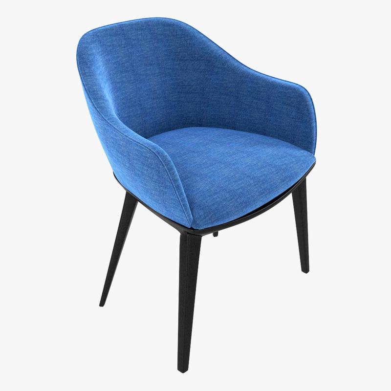 3d softshell chair vitra shell model. Black Bedroom Furniture Sets. Home Design Ideas