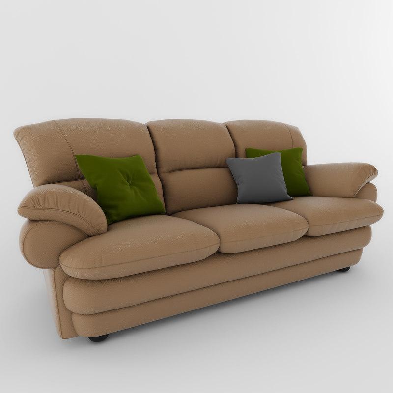 3d sofa komfort. Black Bedroom Furniture Sets. Home Design Ideas