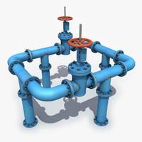 oil valve 3D models