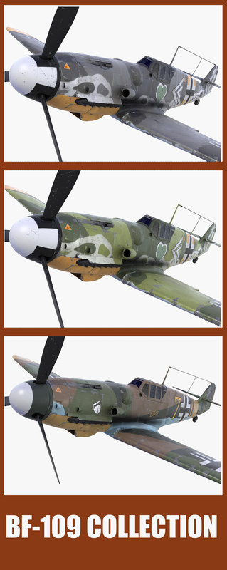 BF 109 collection