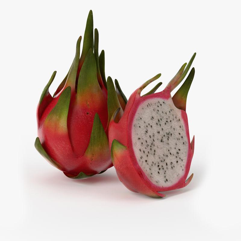 Realistic Dragonfruit