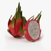 Dragonfruit 3D models