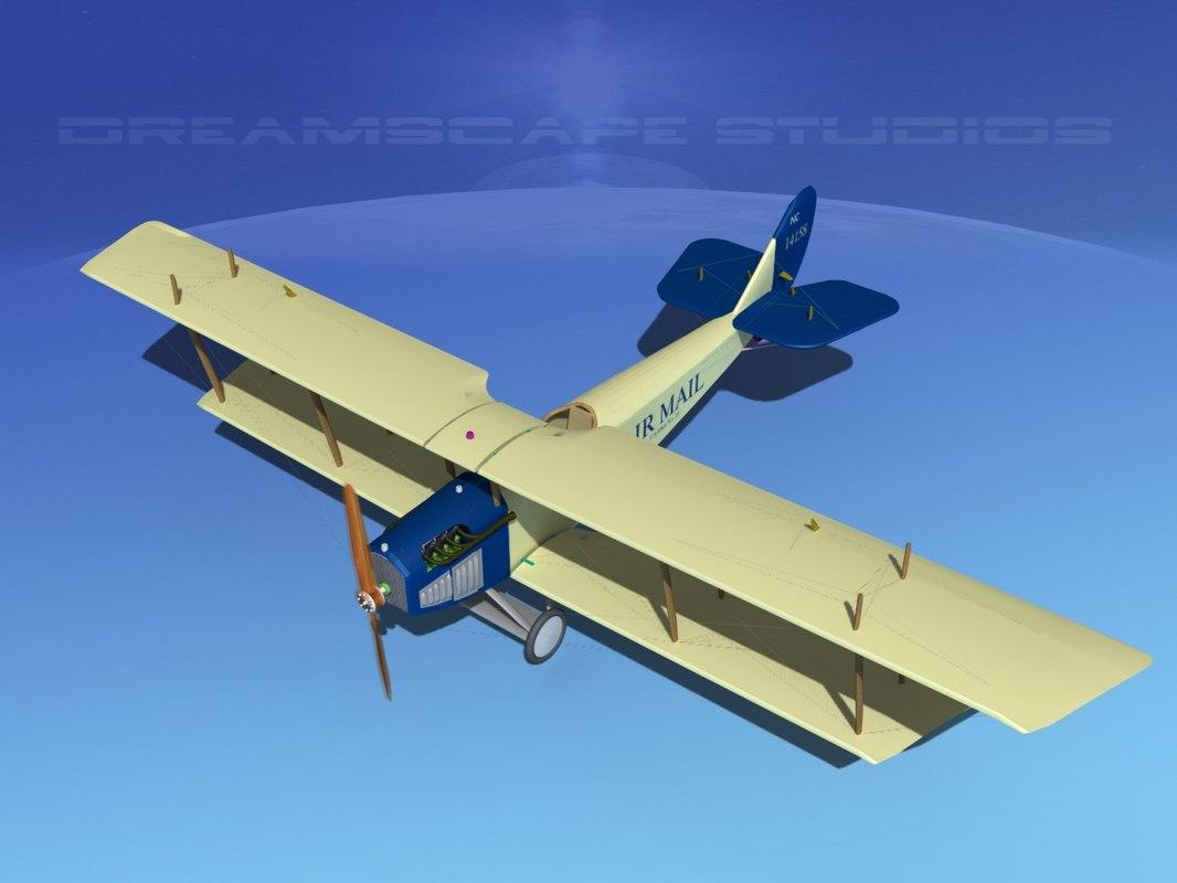 Curtiss JN-2 Jenny V09 Air Mail