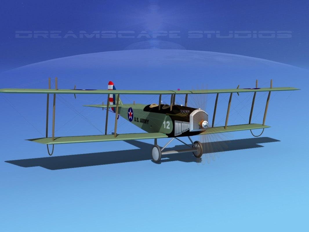 Curtiss JN-2 Jenny V04 US Army