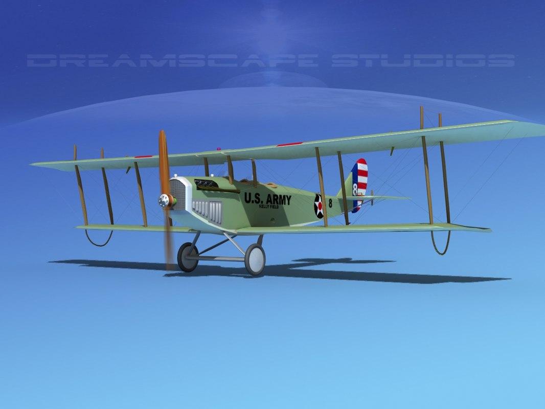 Curtiss JN-2 Jenny V05 US Army
