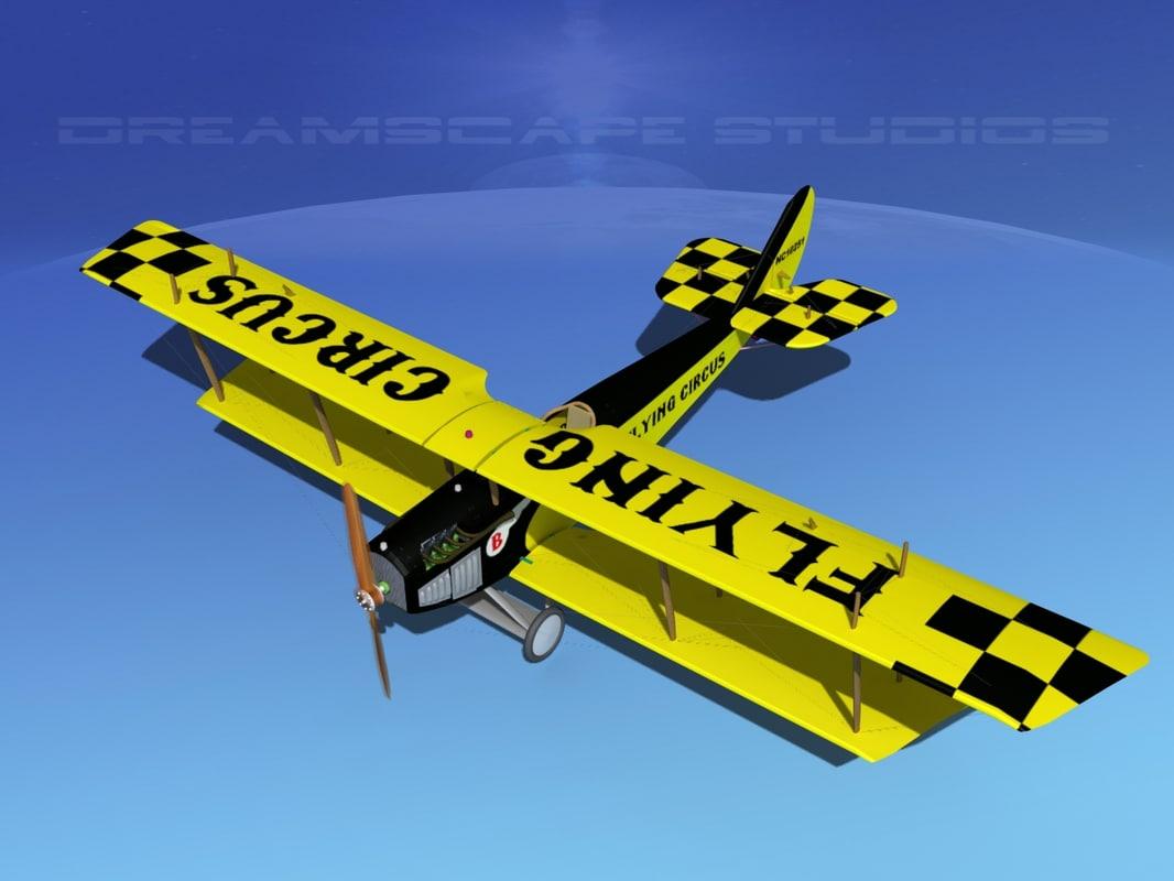 Curtiss JN-2 Jenny V06 Flying Circus