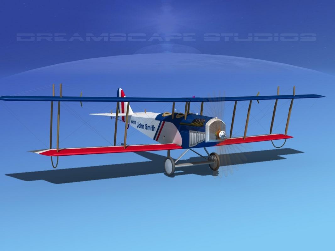 Curtiss JN-2 Jenny V08