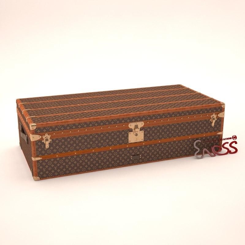 Steamer trunk Louis-Vuitton
